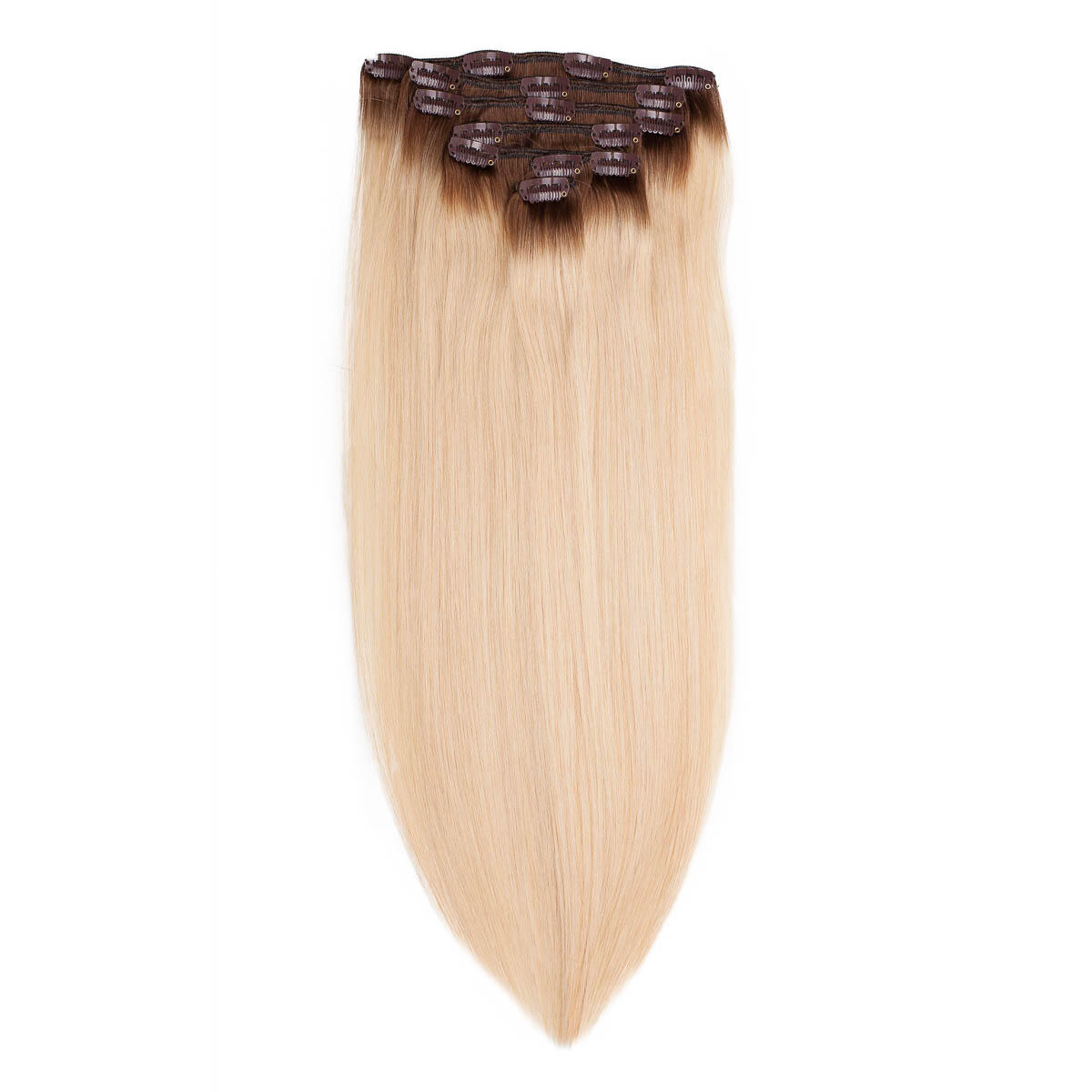 Clip-on set R5.0/8.3 Brown Honey Blonde Root 50 cm
