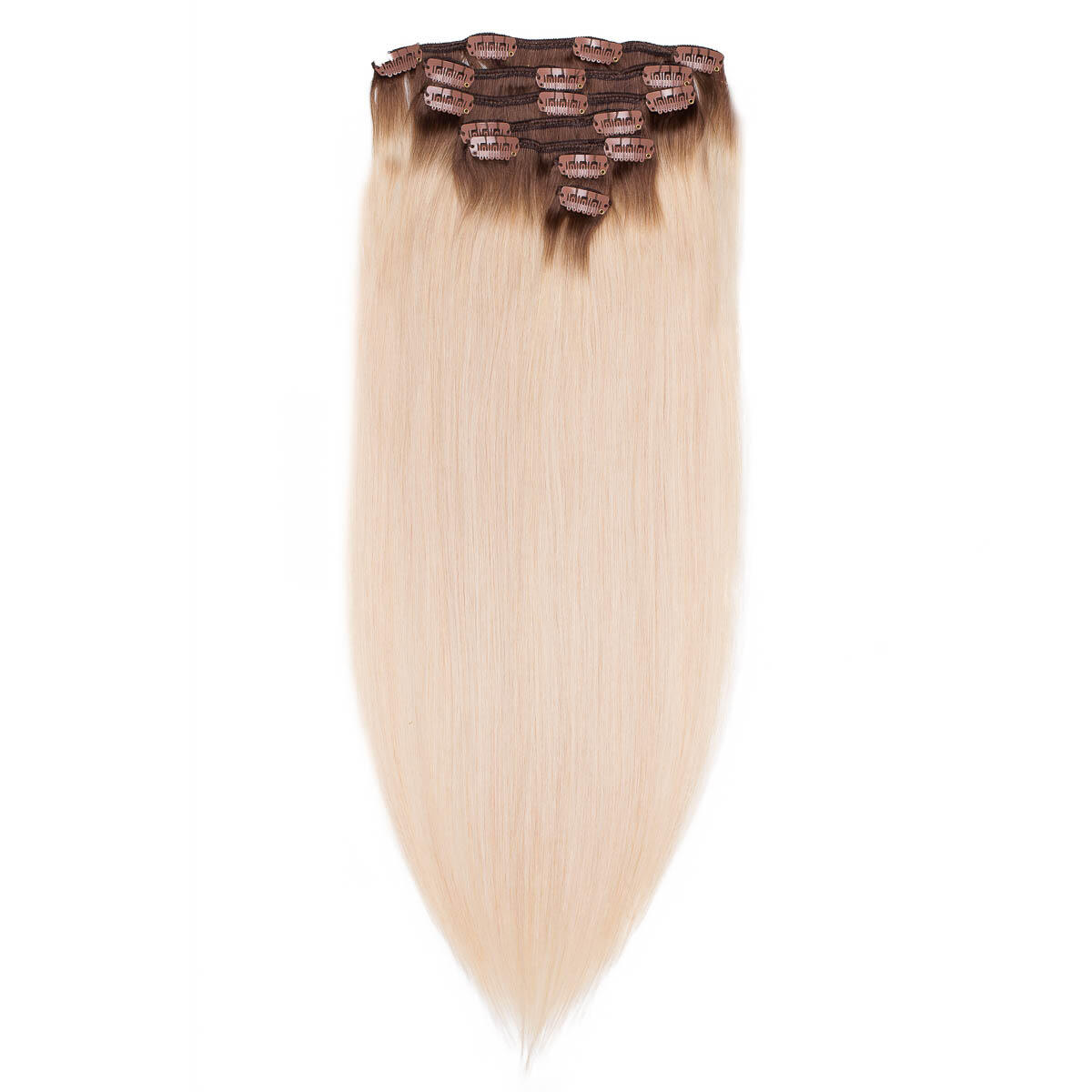 Clip-on Set Original 7 pieces R5.1/10.8 Medium Ash Blonde Root 50 cm