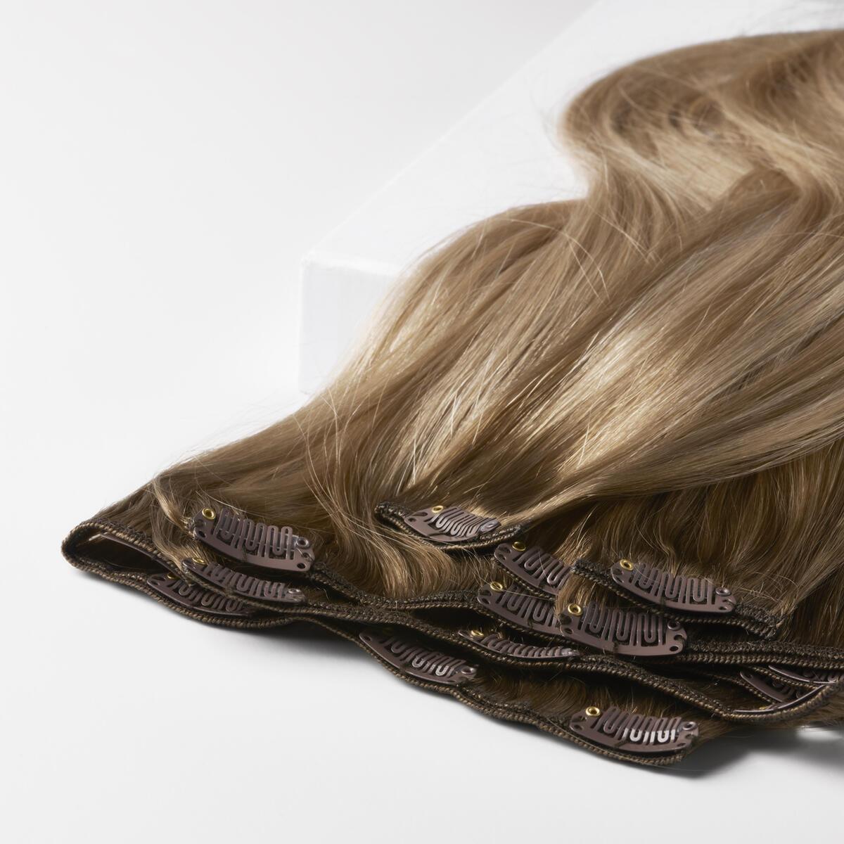 Clip-on set B5.1/7.3 Brown Ash Blonde Balayage 50 cm