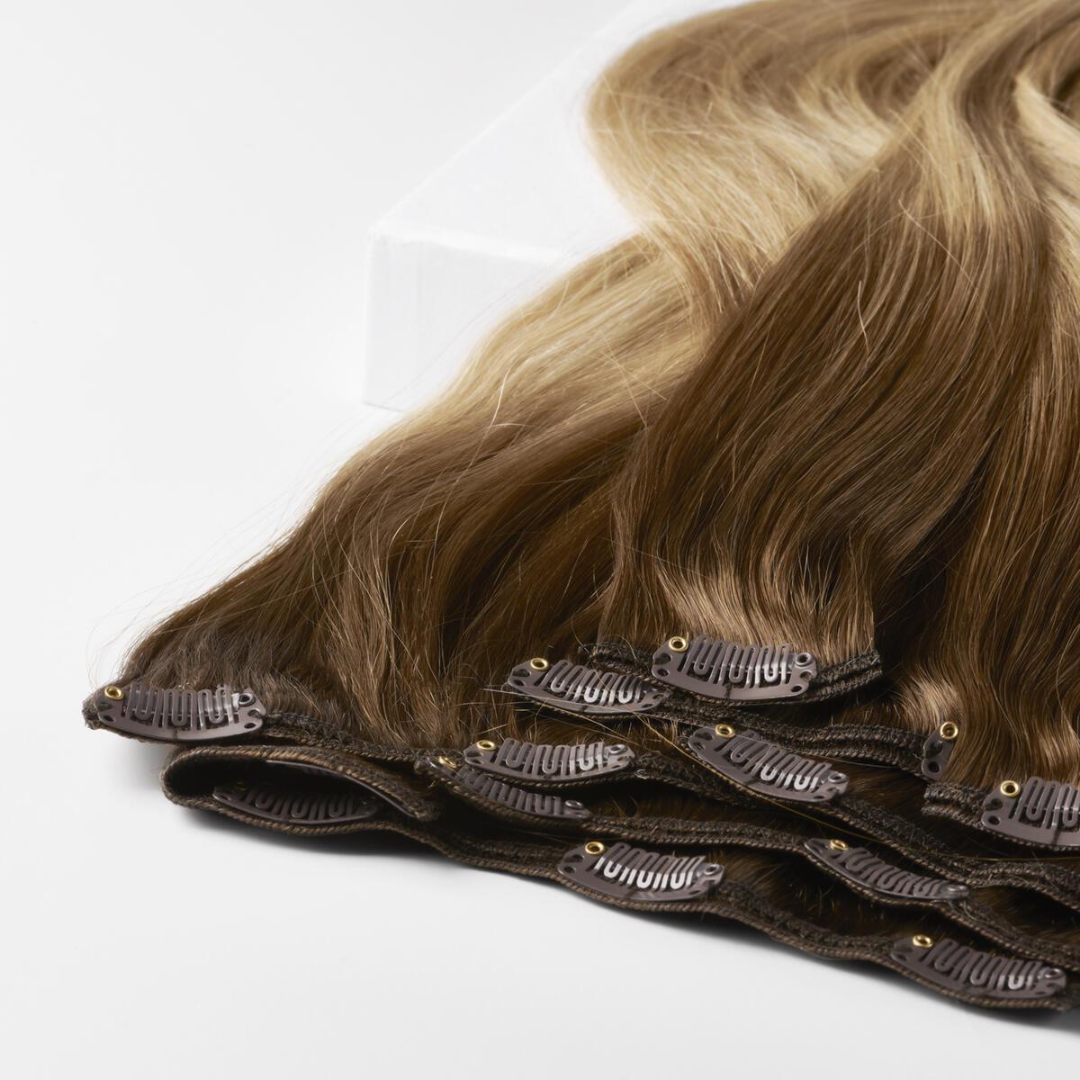 Clip-on set B5.4/7.2 Cinnamon Blonde Balayage 50 cm