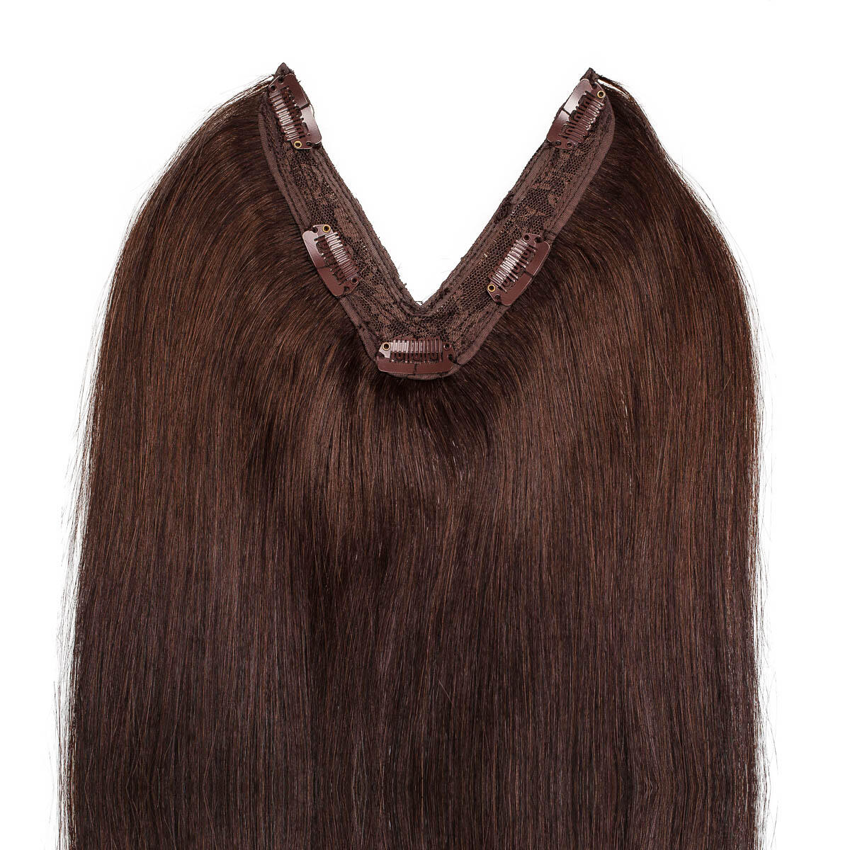 Easy Clip-in 2.2 Coffee Brown 50 cm