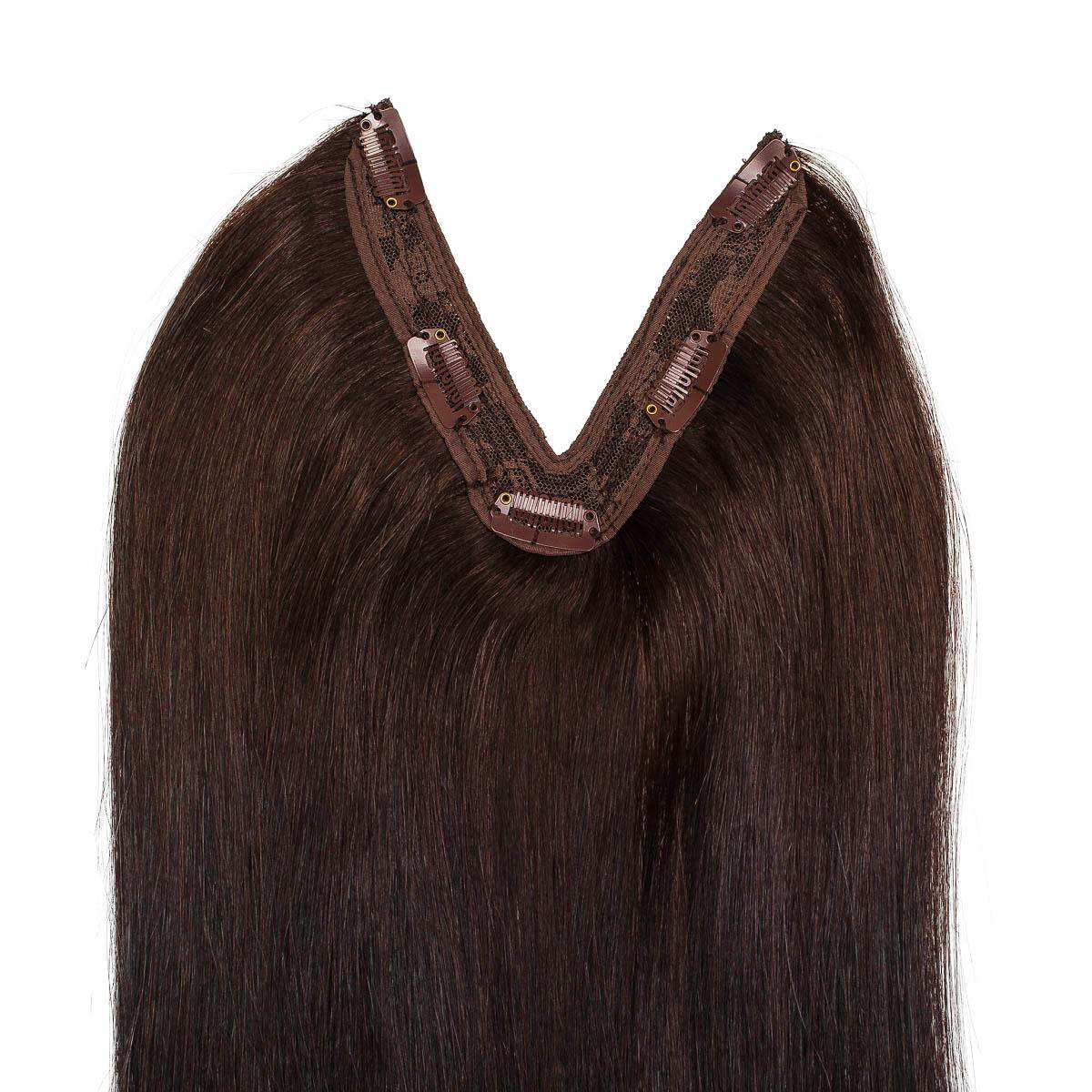 Easy Clip-in 2.3 Chocolate Brown 50 cm
