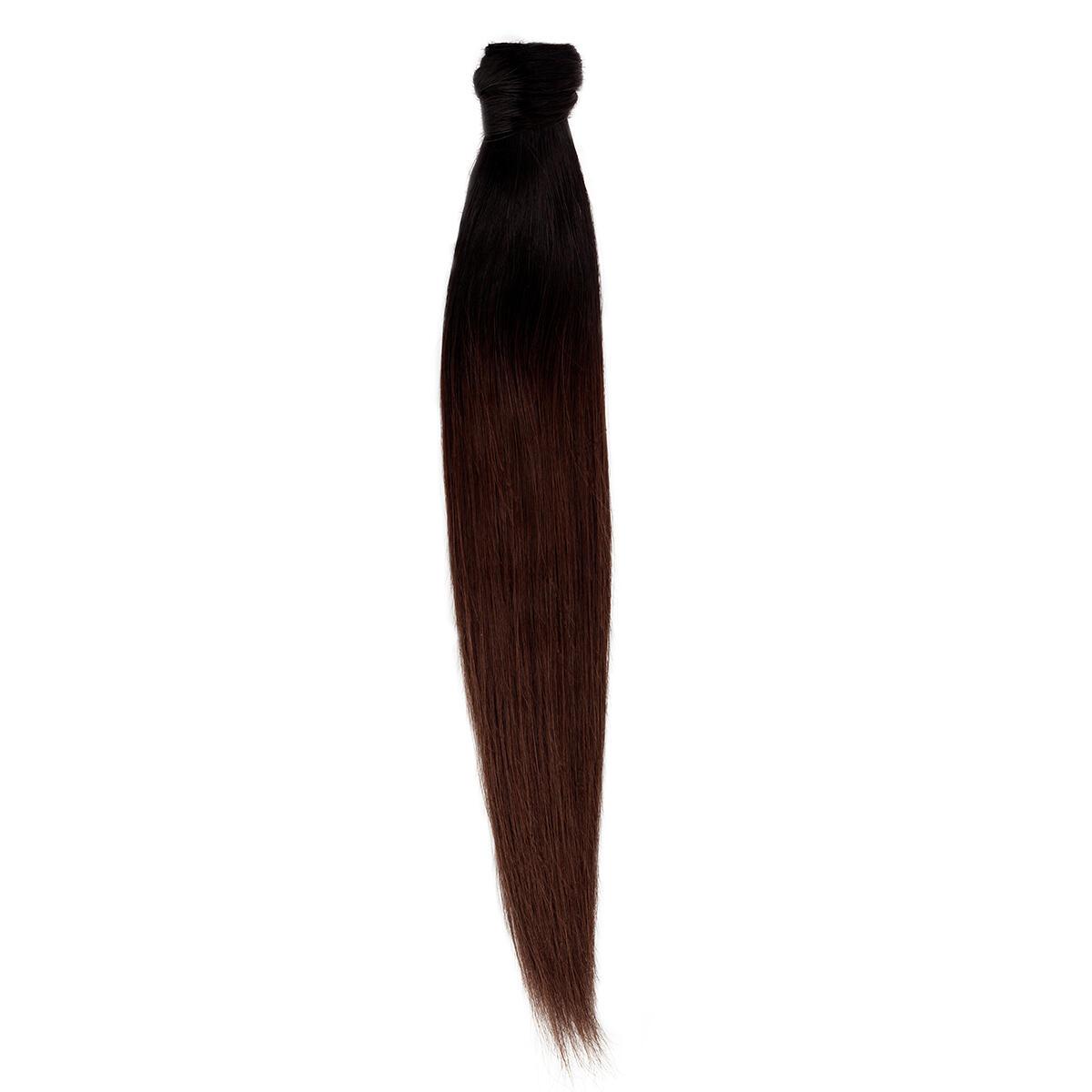 Clip-in Ponytail Original O1.2/2.0 Black Brown Ombre 40 cm