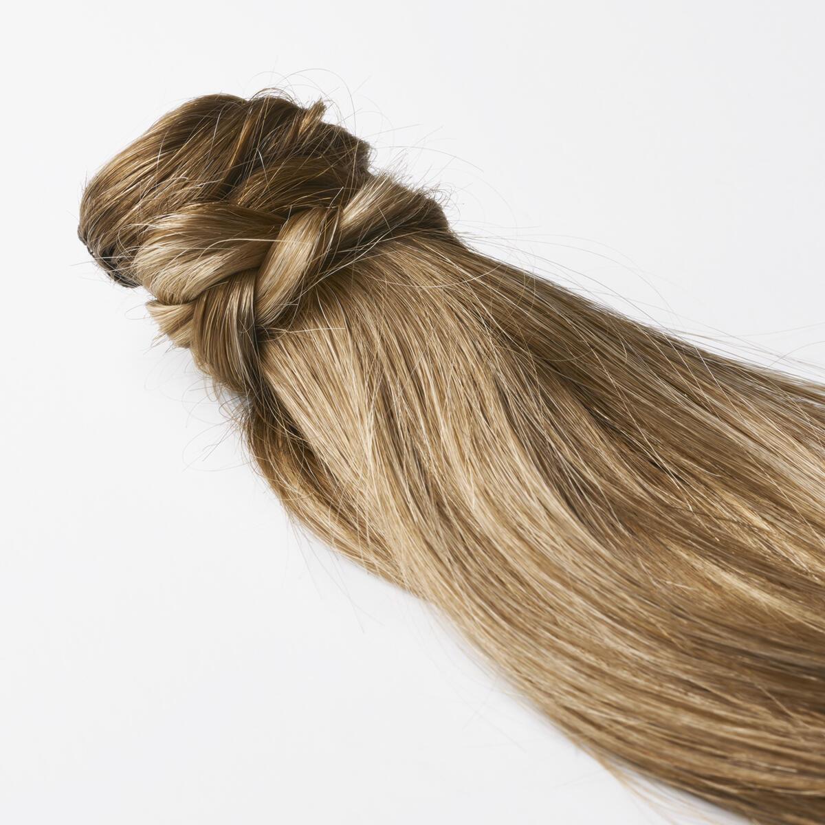 Clip-in Ponytail Ponytail made of real hair B5.0/8.3 Brownish Blonde Balayage 50 cm