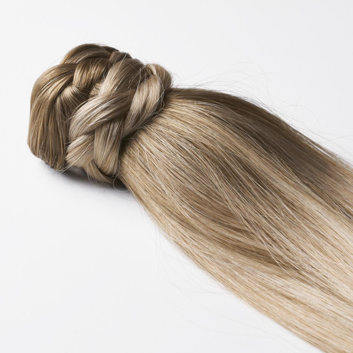 Clip-in Ponytail B5.1/7.3 Brown Ash Blonde Balayage 50 cm