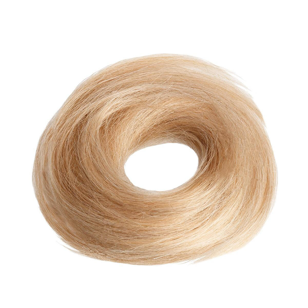 Hair Scrunchie 20 G Scrunchie with real hair M7.4/8.0 Summer Blonde Mix