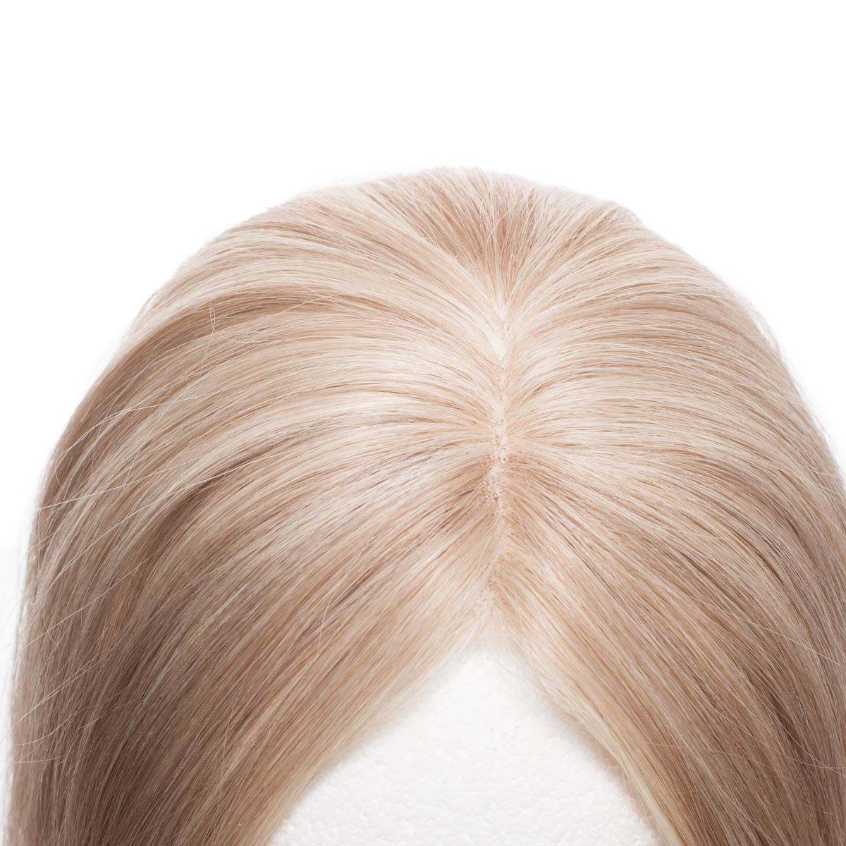 Top Piece Original Glatt M7.3/10.8 Cendre Ash Blonde Mix 30 cm