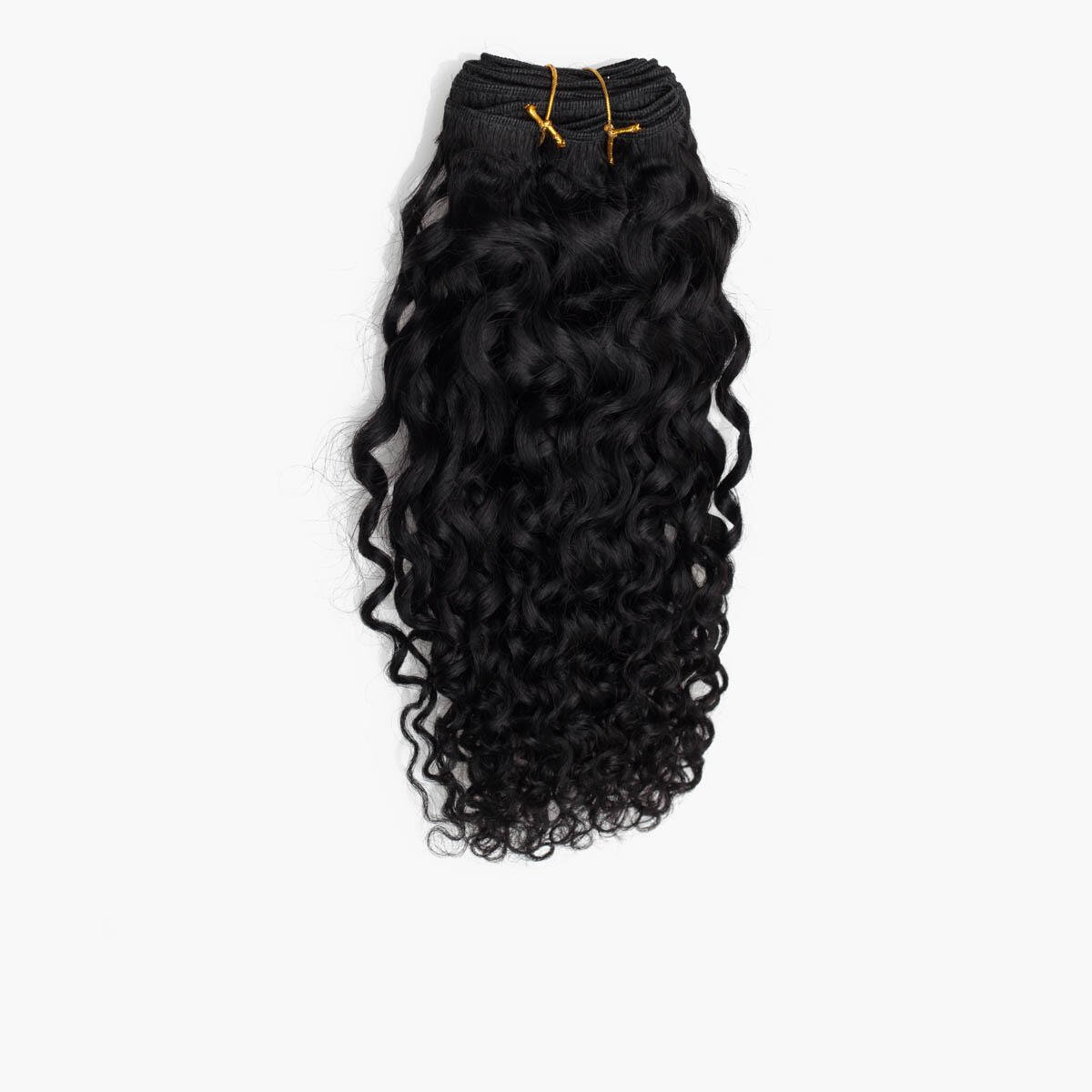 Haartresse Curly Curls 1.0 Black 35 cm