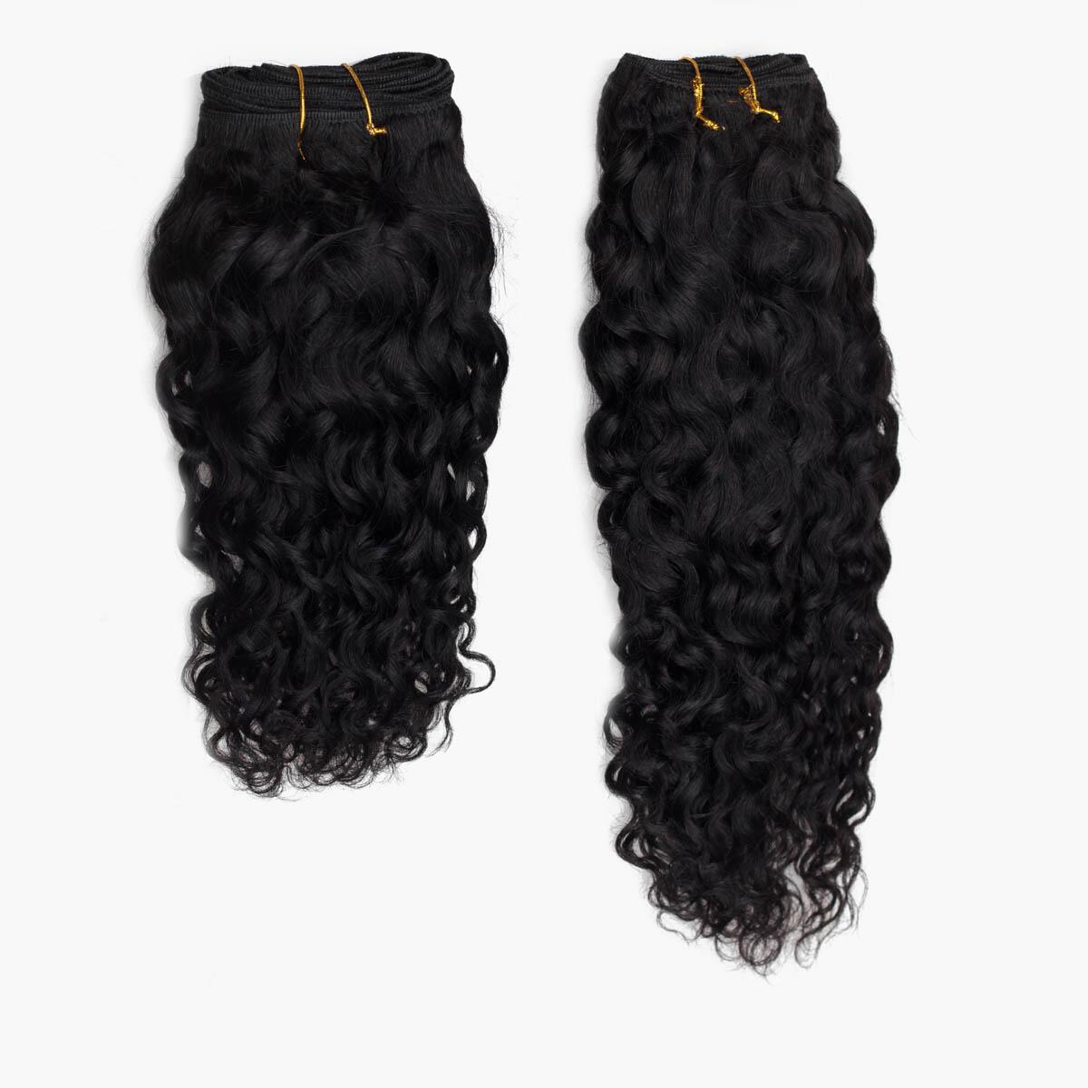 Hair Weft 1.0 Black 40 cm