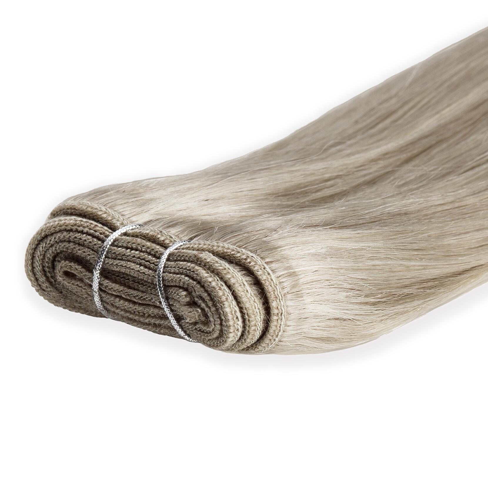 Hair Weft Original Straight 10.7 Light Grey 40 cm