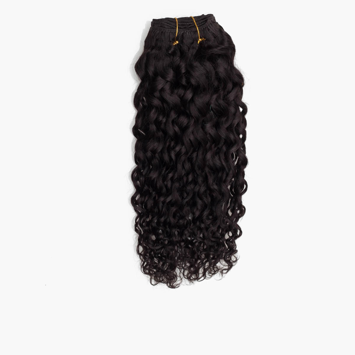 Haartresse Curly Curls 1.2 Black Brown 35 cm