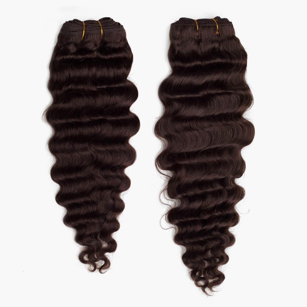 Hair Weft Soft Wave 2.2 Coffee Brown 40 cm