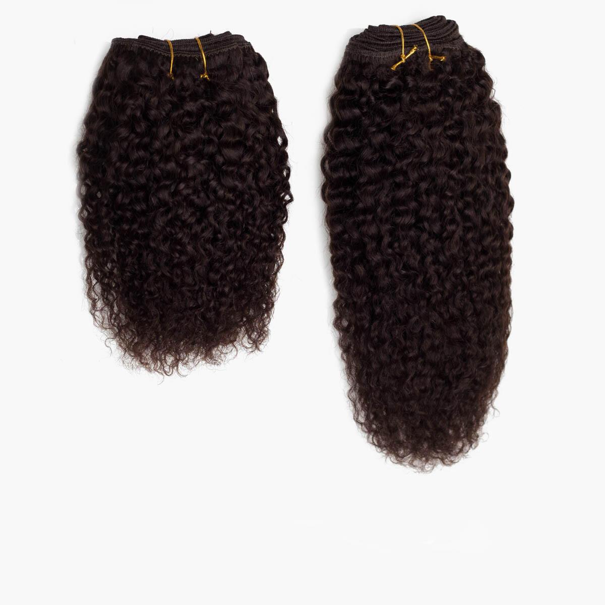 Hair Weft 2.3 Chocolate Brown 25 cm