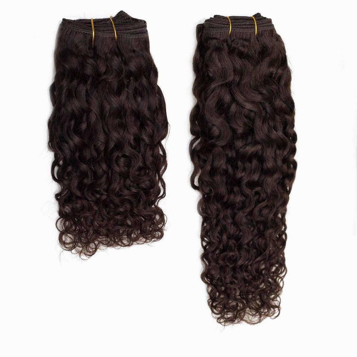 Hair Weft 2.3 Chocolate Brown 40 cm