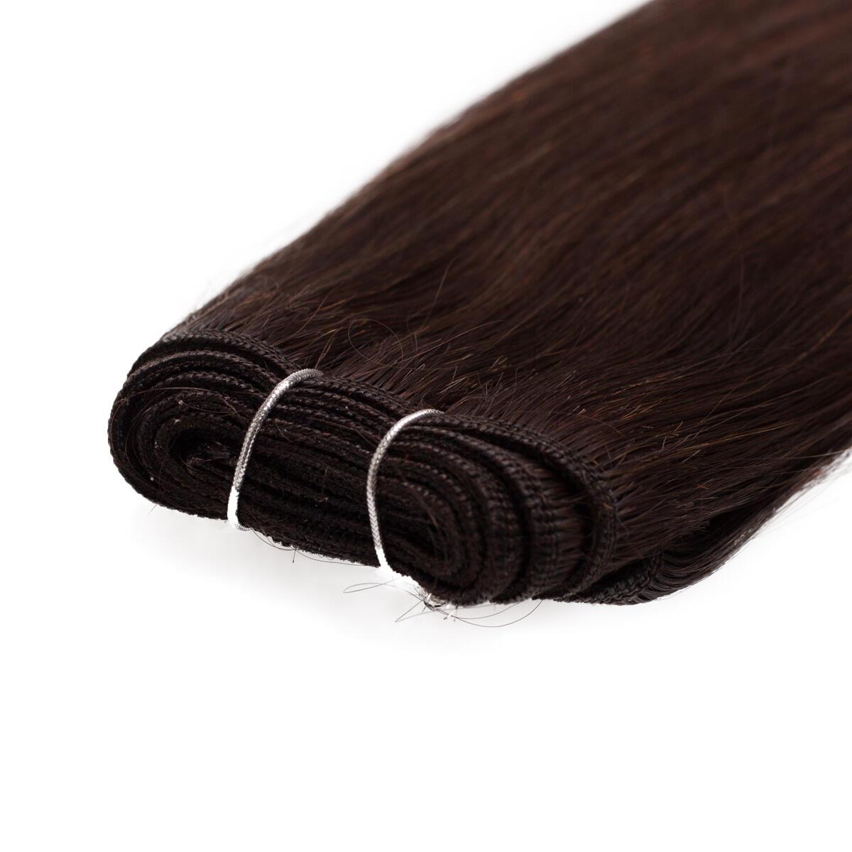 Haartresse Premium Glatt 2.3 Chocolate Brown 50 cm