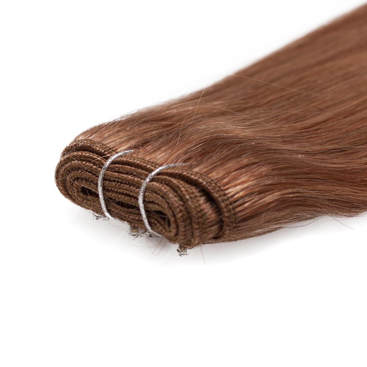 Hair Weft Premium Straight 5.3 Golden Brown 50 cm