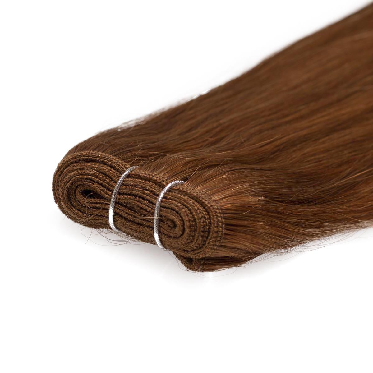 Hair Weft Original 5.4 Copper Brown 50 cm