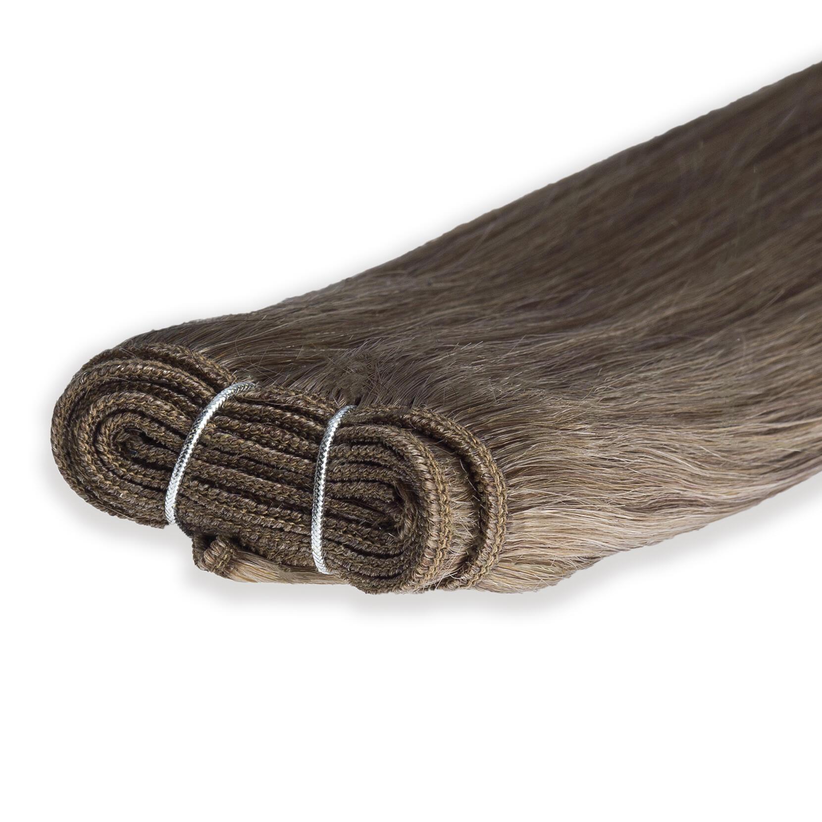 Haartresse Original Glatt 7.3 Cendre Ash 50 cm