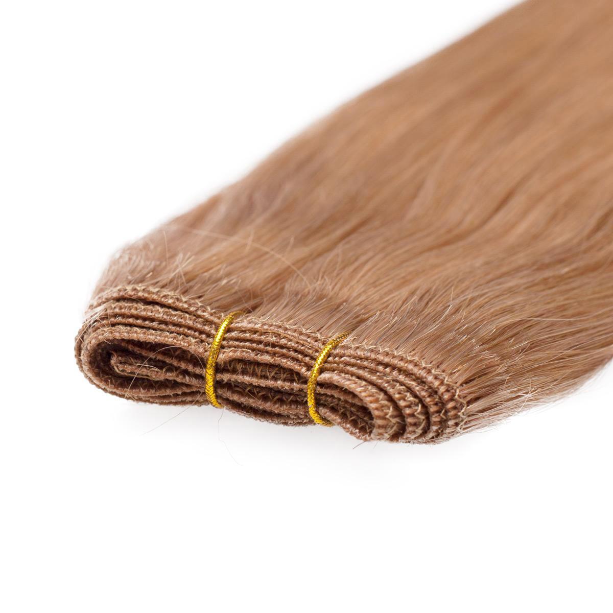 Hair Weft Original Straight 7.4 Medium Golden Blonde 50 cm