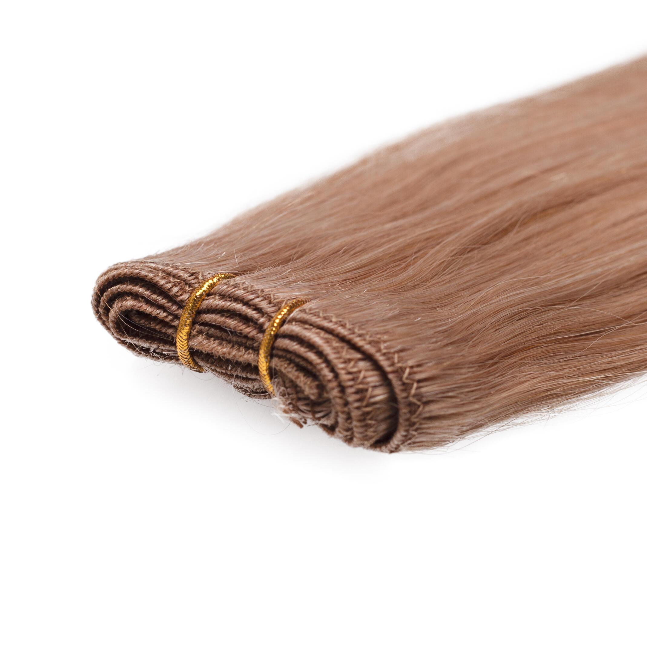 Haartresse Original Glatt 7.5 Dark Blonde 50 cm