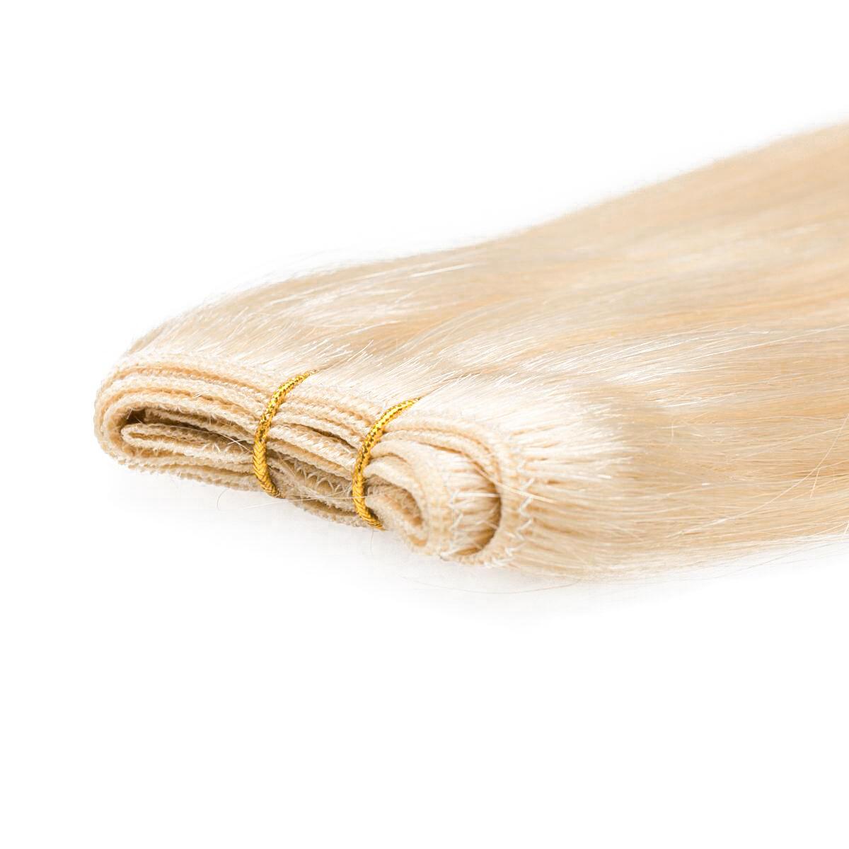 Hair Weft 8.0 Light Golden Blonde 40 cm