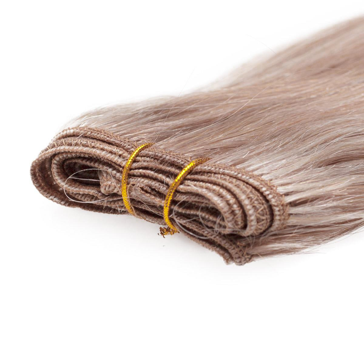 Hair Weft Premium Straight M7.3/10.8 Cendre Ash Blonde Mix 50 cm