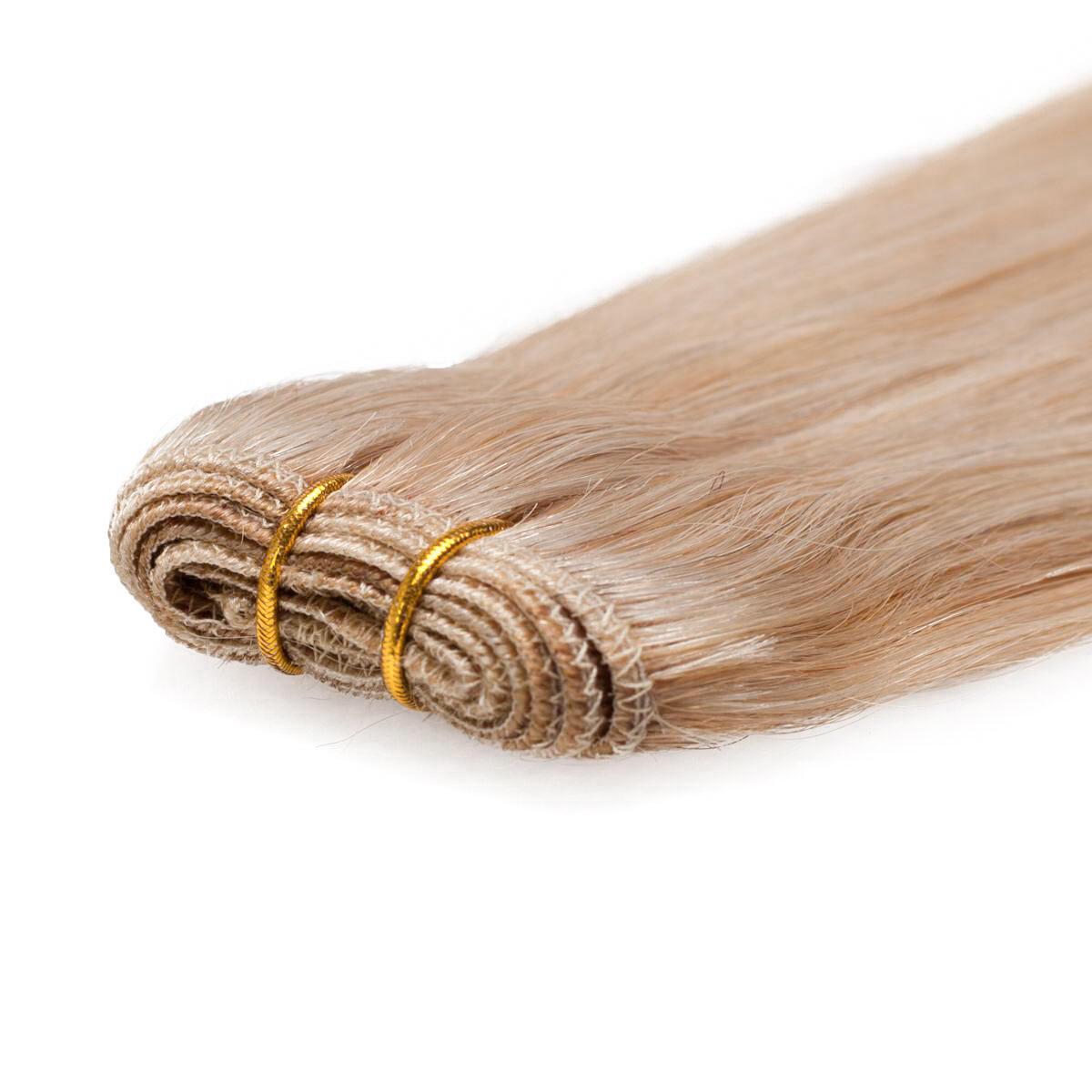 Haartresse Original Glatt M7.5/10.8 Scandinavian Blonde 50 cm