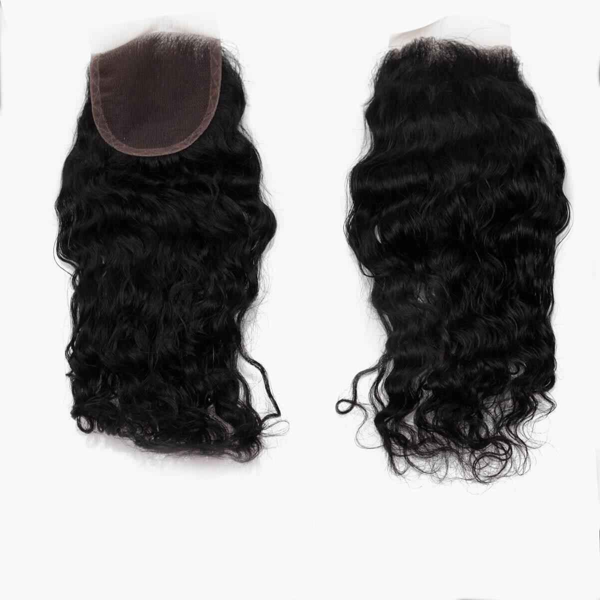 Lace Closure Bouncy Curl 1.0 Black 30 cm