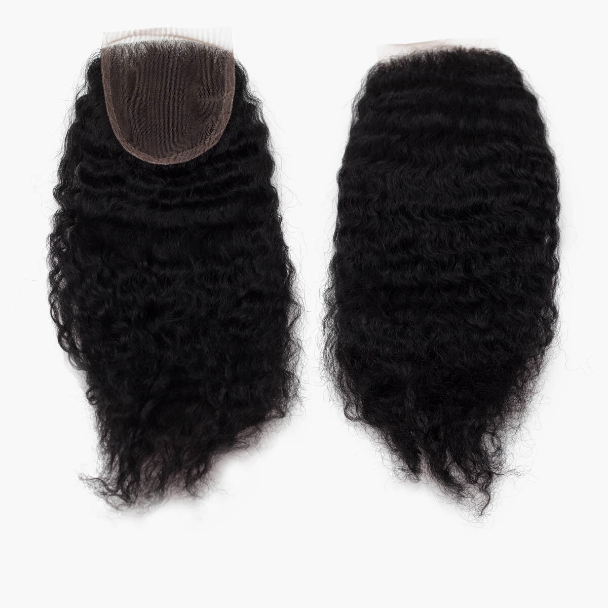 Lace Closure Coily Curl 1.0 Black 35 cm