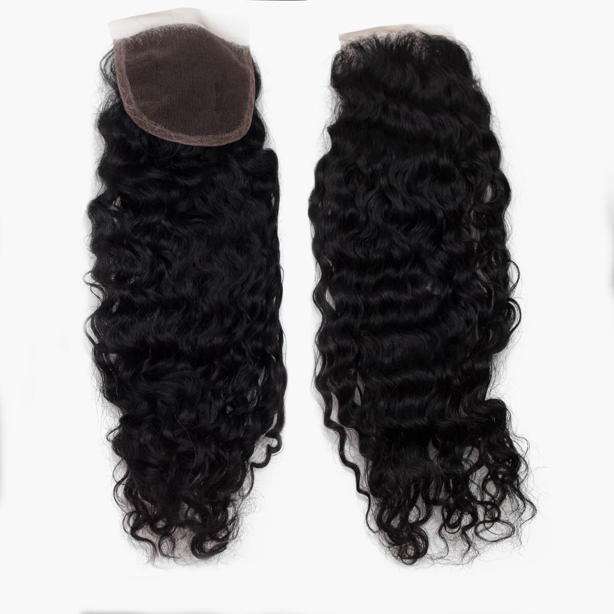 Lace Closure Bouncy Curl 1.0 Black 40 cm