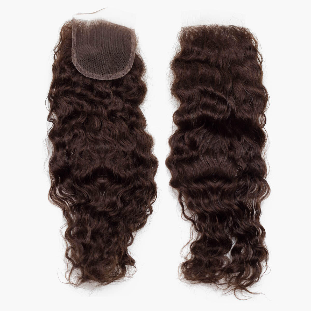 Lace Closure Bouncy Curl 2.2 Coffee Brown 40 cm
