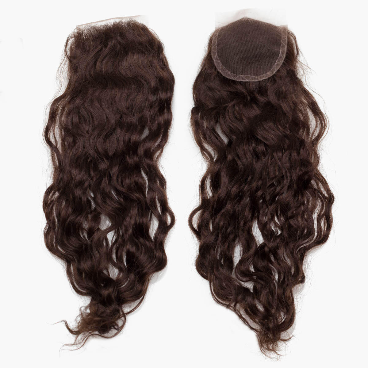 Lace Closure Soft Wave 2.2 Coffee Brown 45 cm
