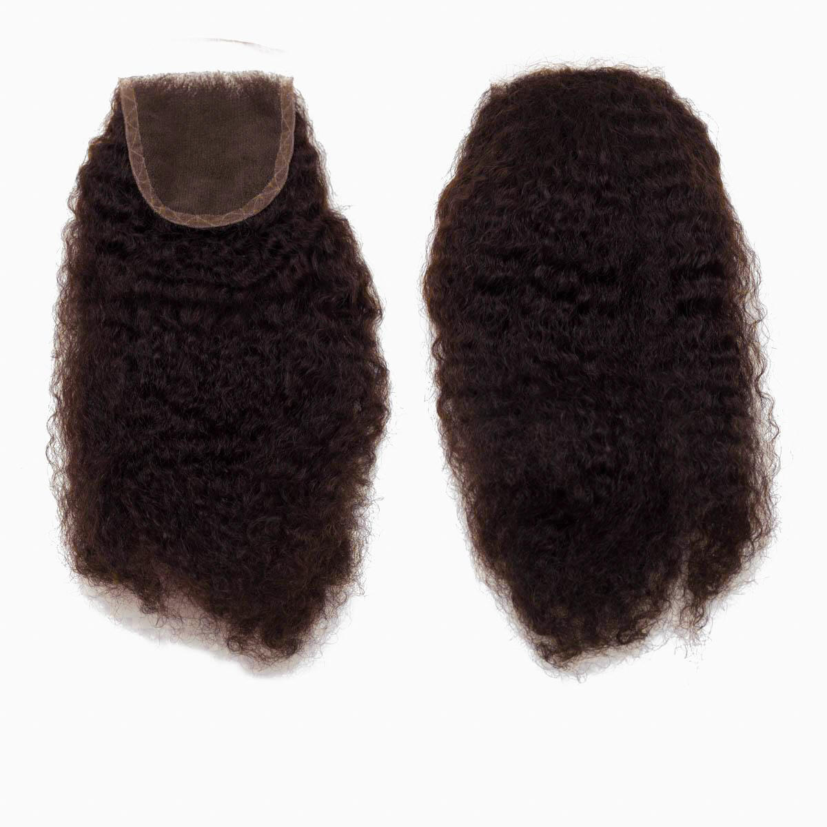 Lace Closure Coily Curl 2.3 Chocolate Brown 35 cm