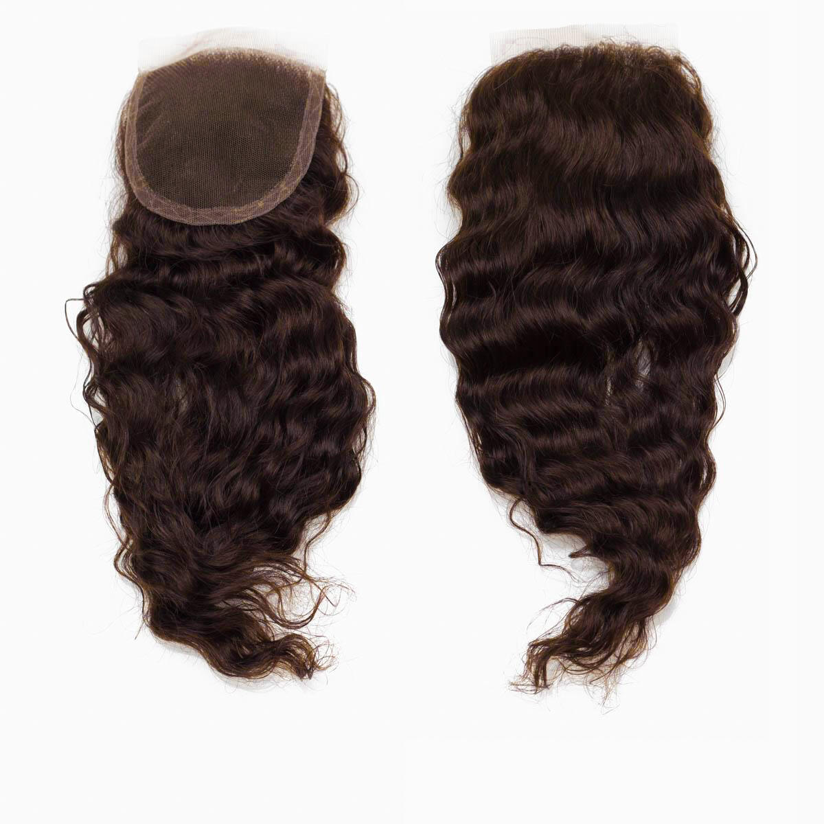 Lace Closure Bouncy Curl 2.3 Chocolate Brown 40 cm