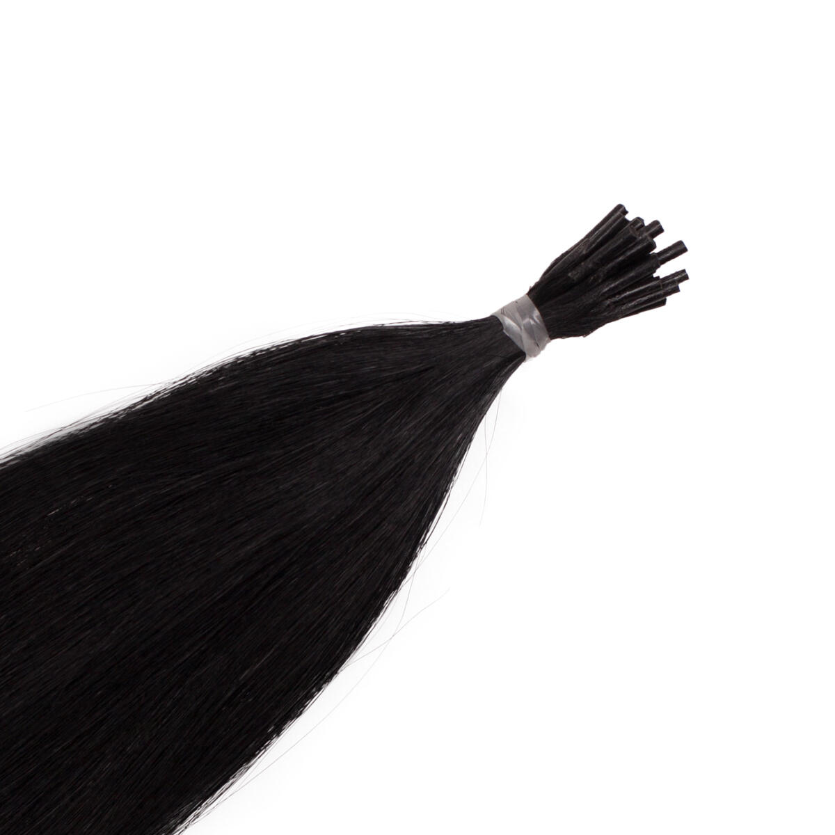 Stick Hair Original Glatt 1.0 Black 50 cm