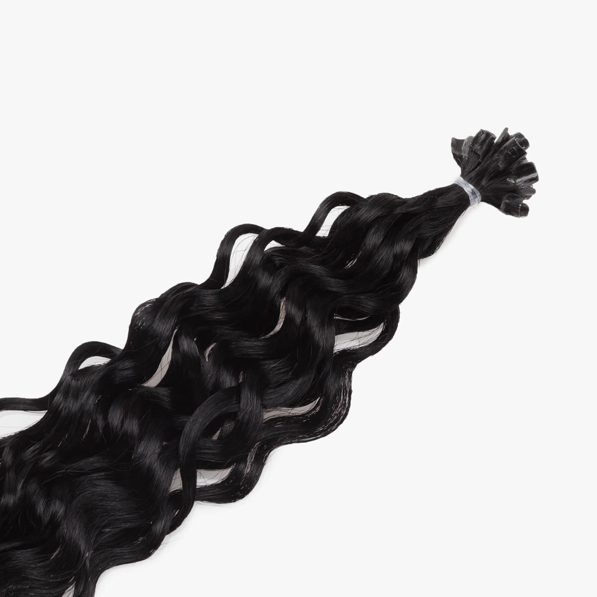 Nail Hair Original Curly 1.0 Black 40 cm
