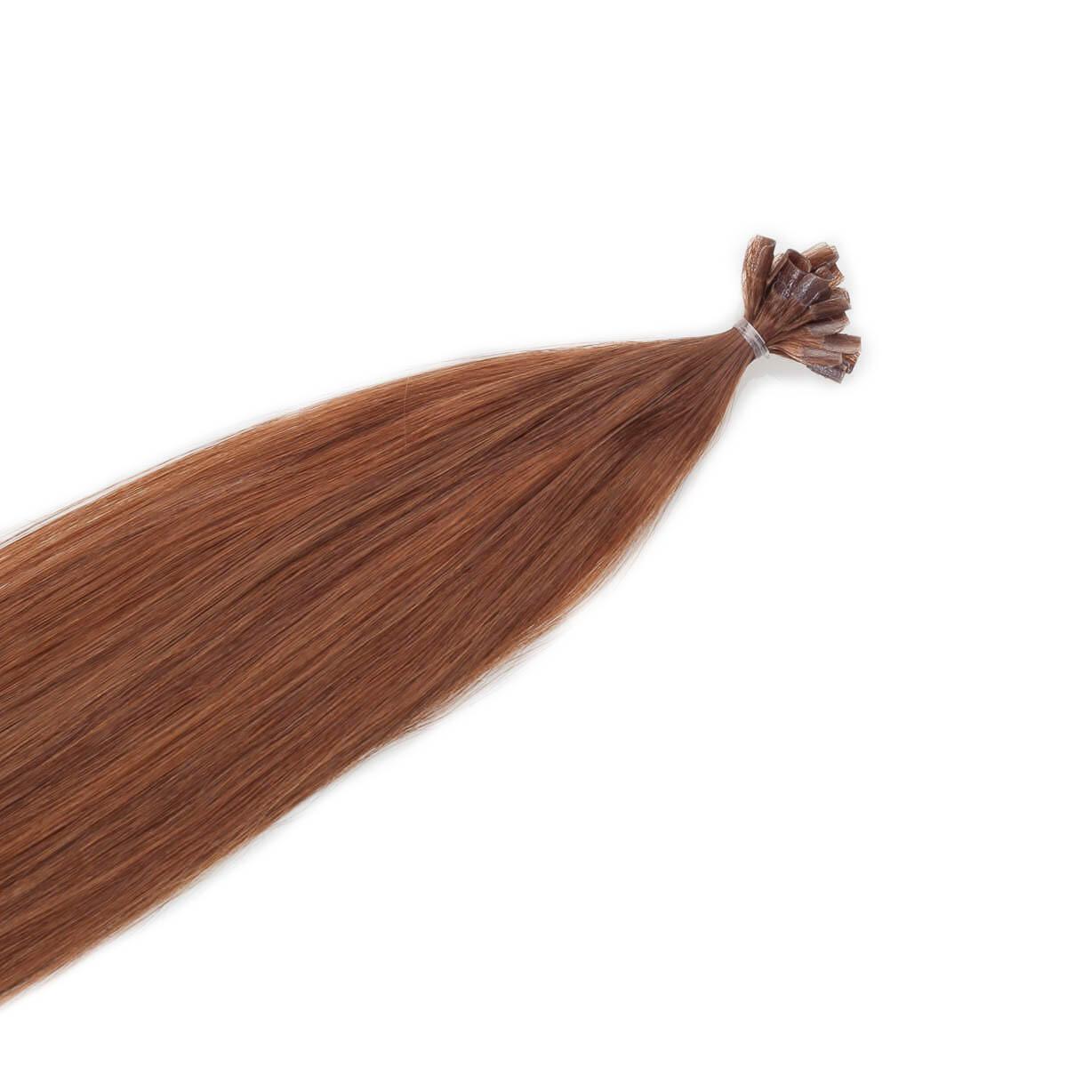 Nail Hair Original 5.45 Dark Copper Brown 30 cm