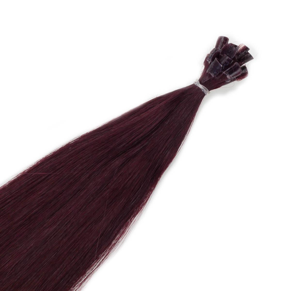 Nail Hair Premium 6.12 Dark Mahogany Brown 40 cm