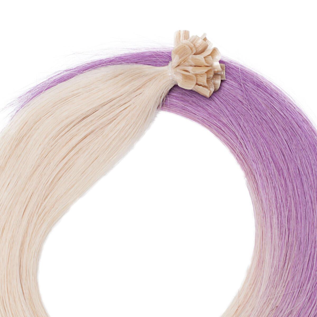Nail Hair Original O10.8/99.3 Light Purple Ombre 50 cm