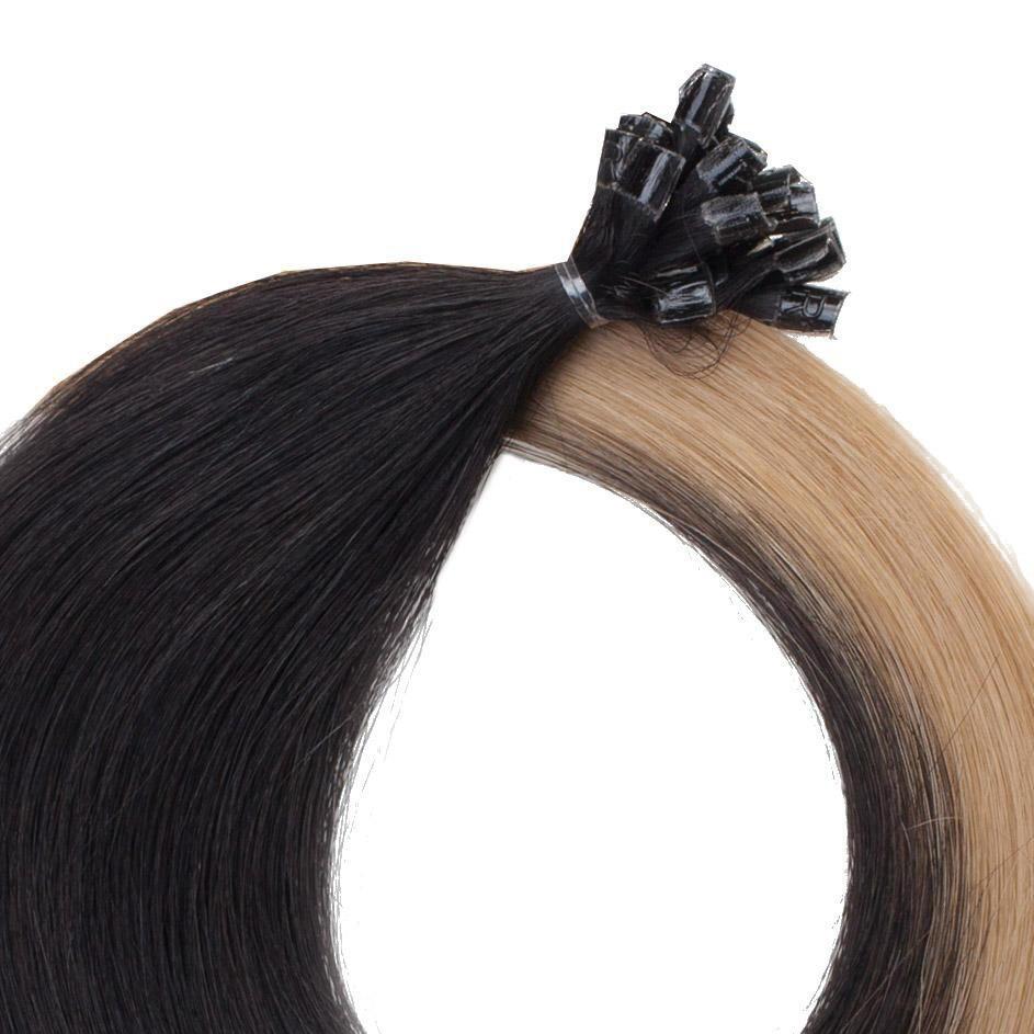 Bondings Original Glatt O1.2/7.5 Black Blond Ombre 50 cm