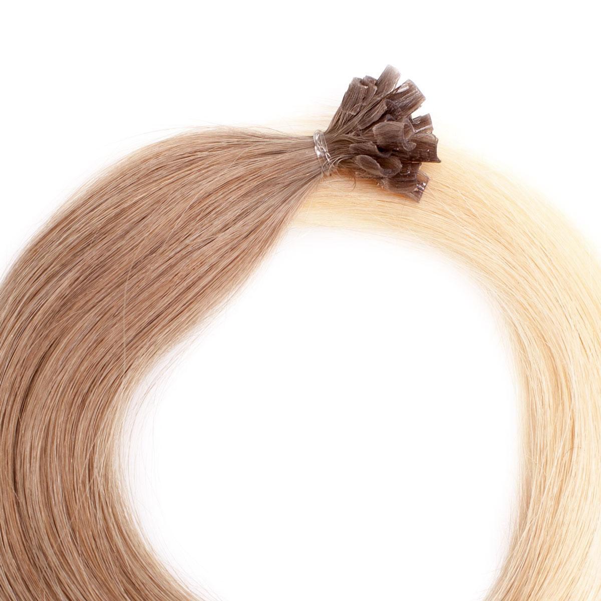 Bondings Premium Glatt O7.3/10.8 Cendre Ash Blond Ombre 60 cm