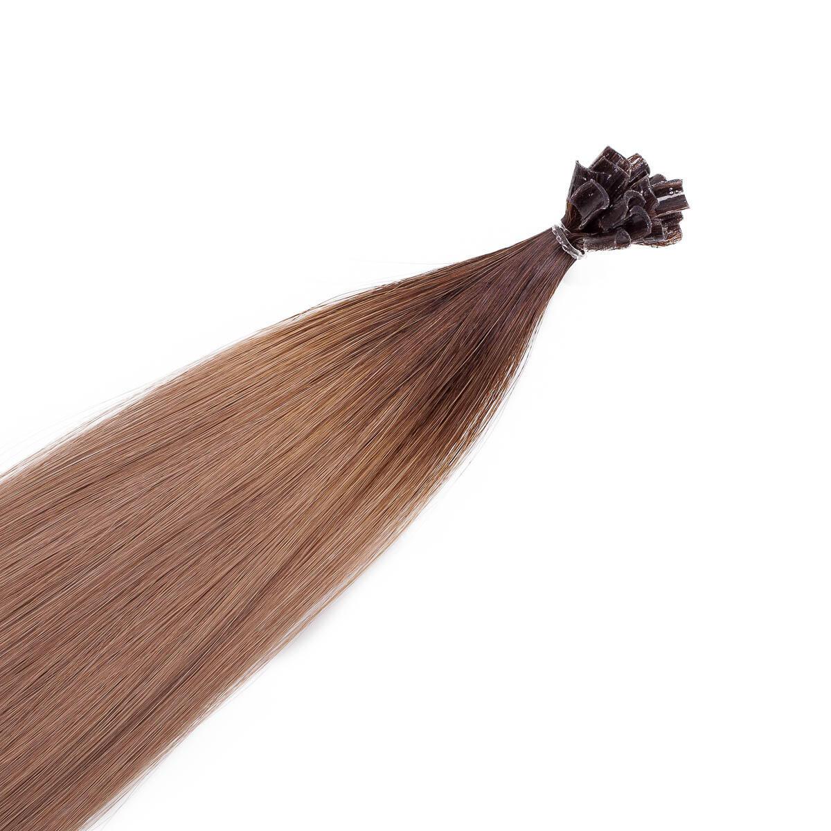 Nail Hair R2.2/7.3 Brown Ash Root 50 cm