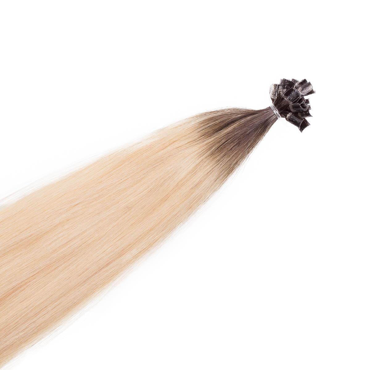 Bondings Original Glatt R2.6/8.0 Dark Ash Blonde Root 50 cm