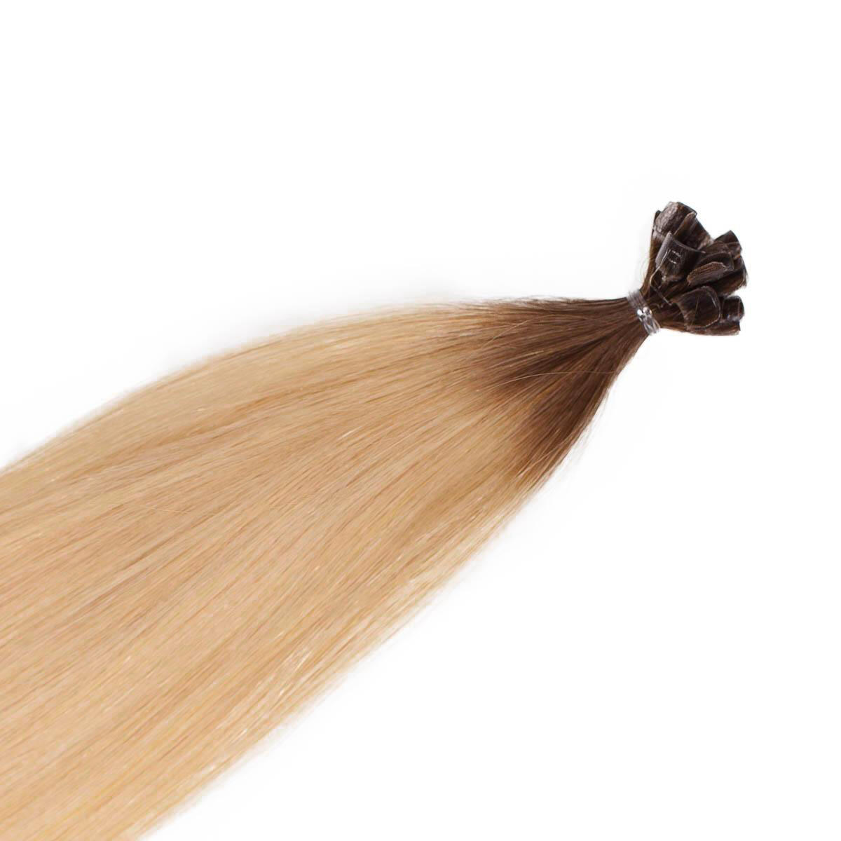 Nail Hair Premium R5.0/8.3 Brown Honey Blonde Root 50 cm