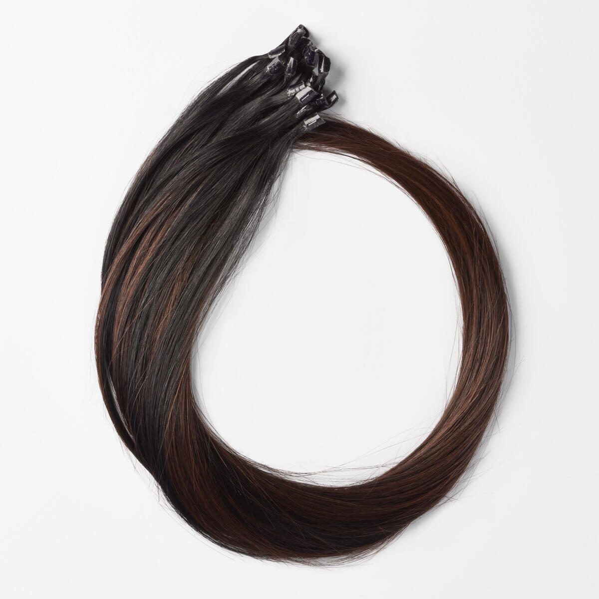 Bondings Premium Glatt B1.0/6.12 Cherry Infused Black Balayage 50 cm