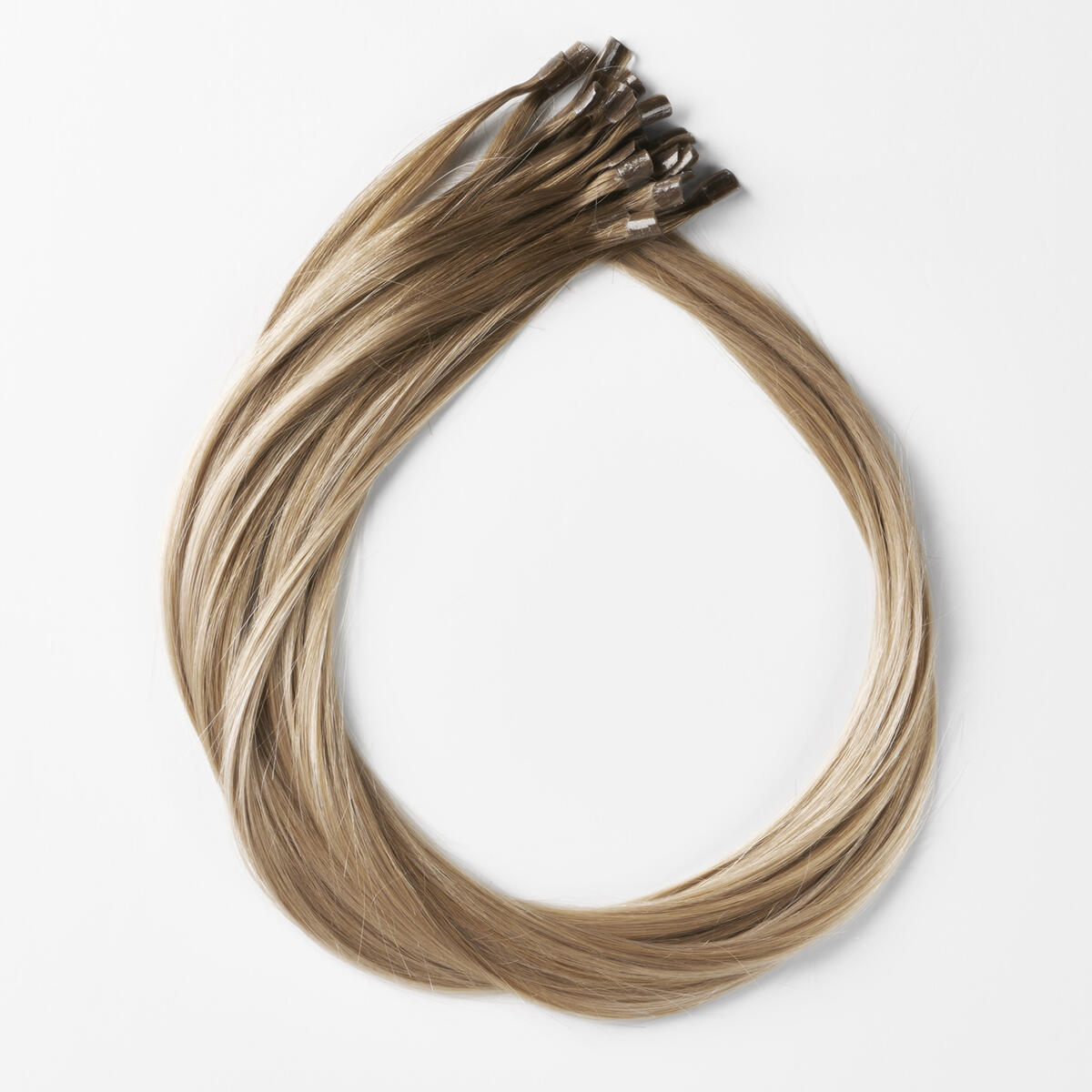 Bondings Premium Glatt B5.1/7.3 Brown Ash Blonde Balayage 50 cm