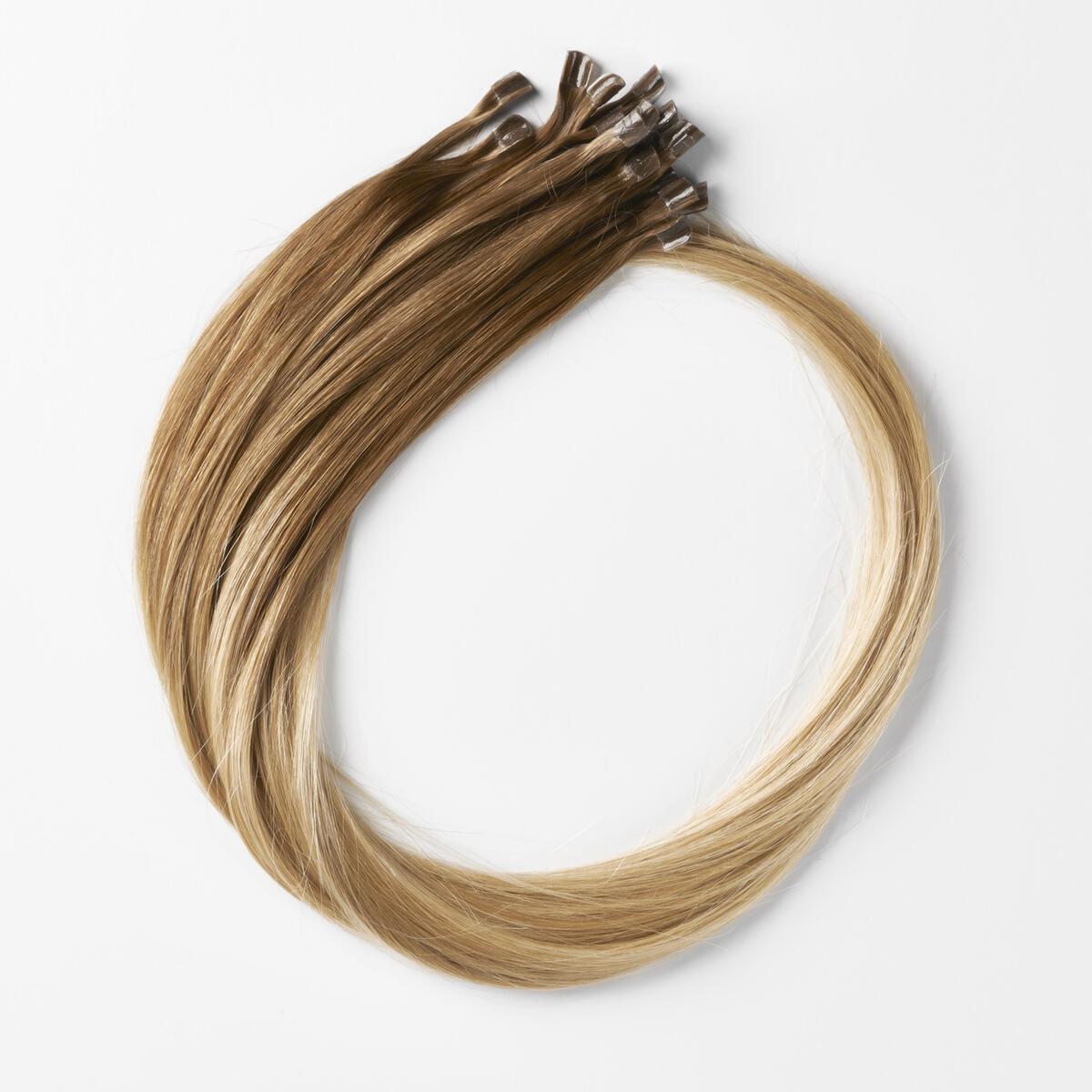 Nail Hair Premium B5.4/7.2 Cinnamon Blonde Balayage 50 cm