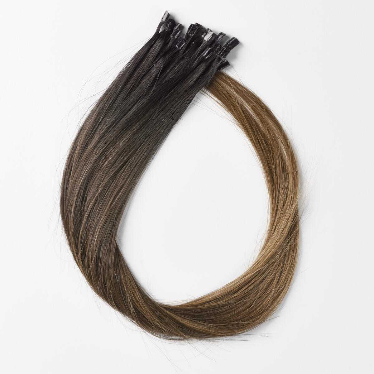 Nail Hair Premium C1.2/5.0 Deep Brown ColorMelt 50 cm