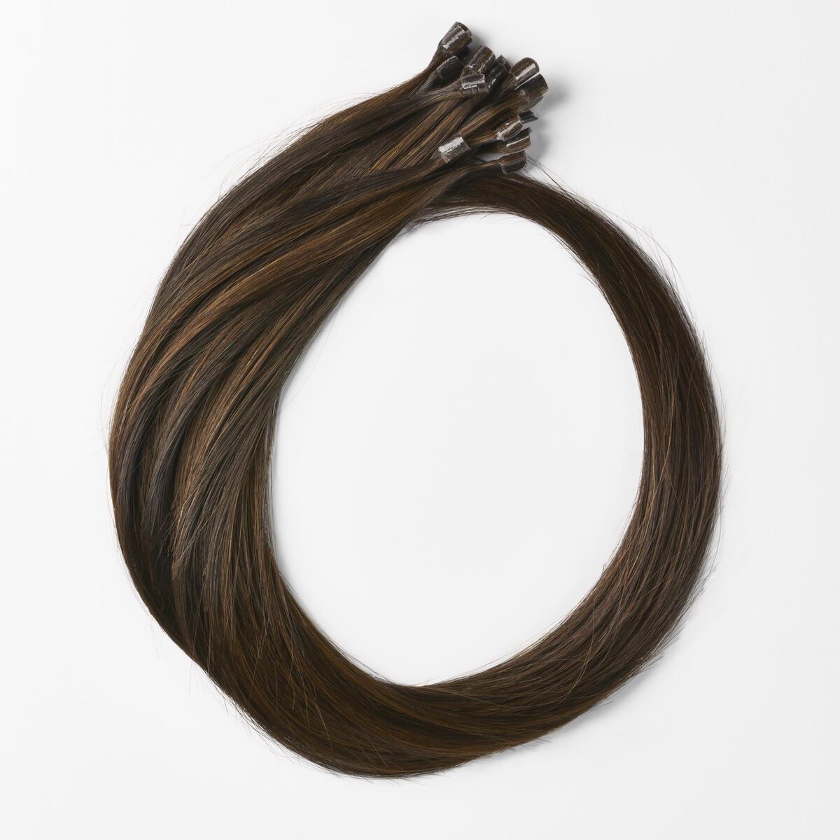 Nail Hair Premium C2.0/2.3 Deep Brown Caramel ColorMelt 50 cm