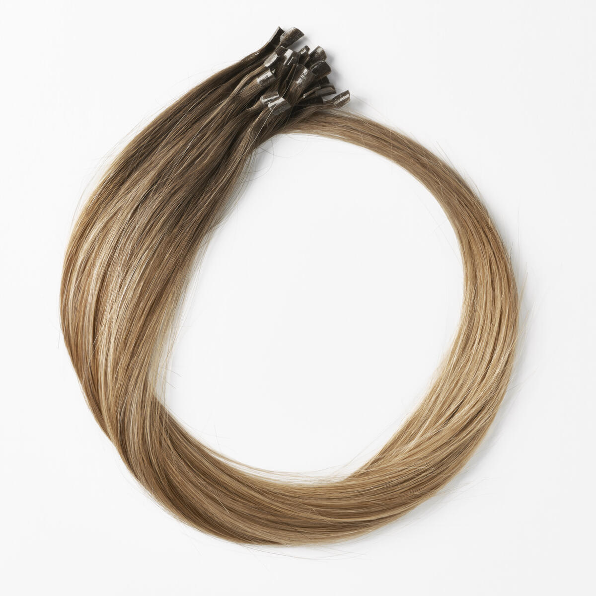Nail Hair C2.2/5.1 Natural Brown ColorMelt 50 cm